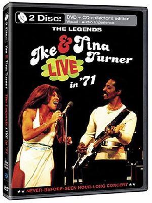 Ce que vous écoutez  là tout de suite DVD-IkeTinaLiveHolland1971